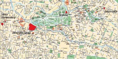 berlin sentrum kart Berlin kart   Kart Berlin (Tyskland) berlin sentrum kart
